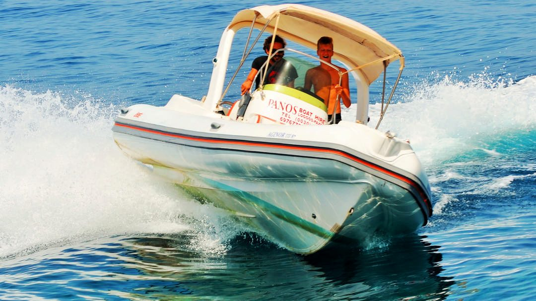 Aginor | 200 HP Sport Deluxe RIB for rent in Paxos