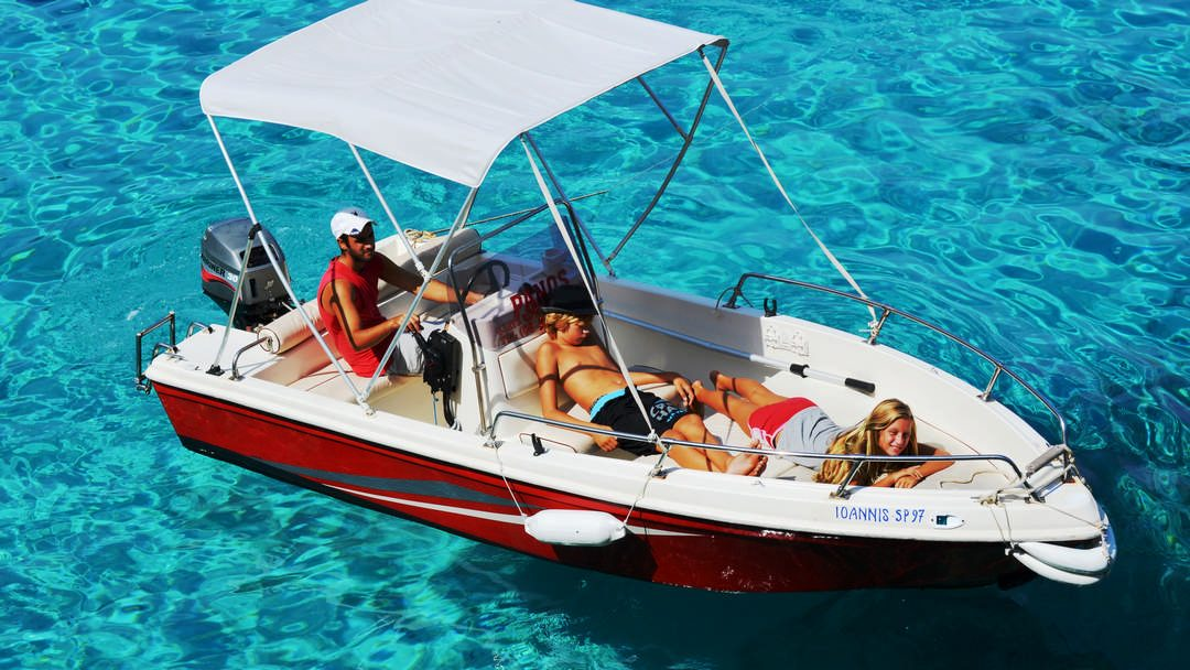 Alexandros & Ioannis | 30-40 HP Speed Boats for hire in Paxos