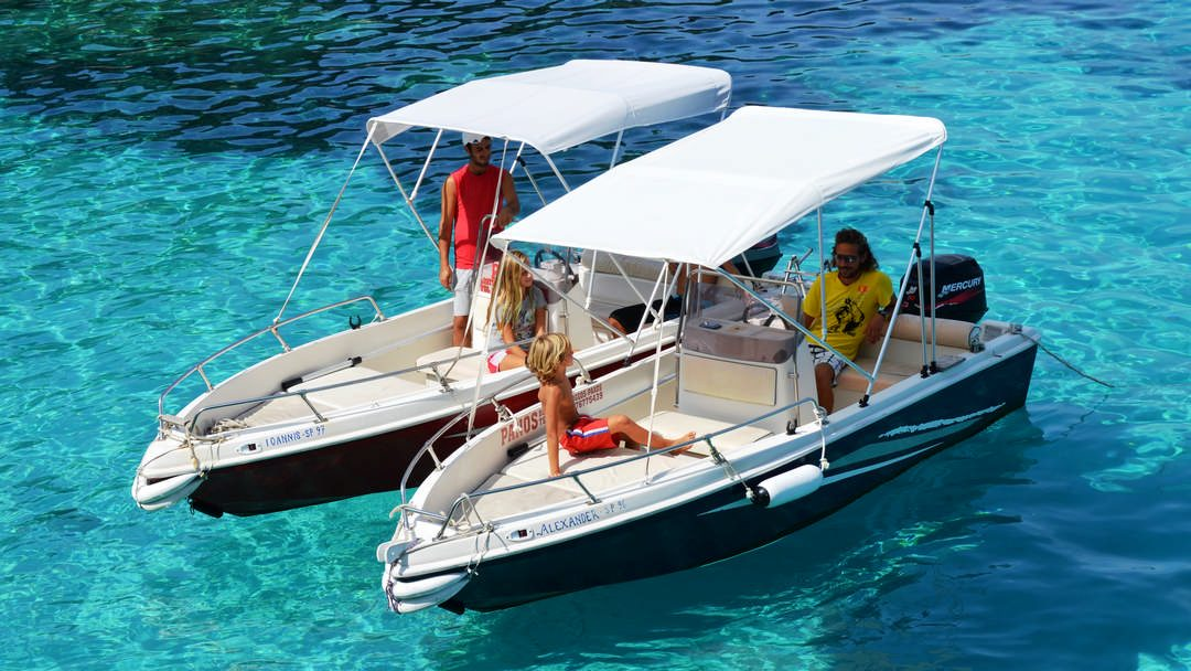Alexandros & Ioannis | 30-40 HP Speed Boats for rent in Paxos