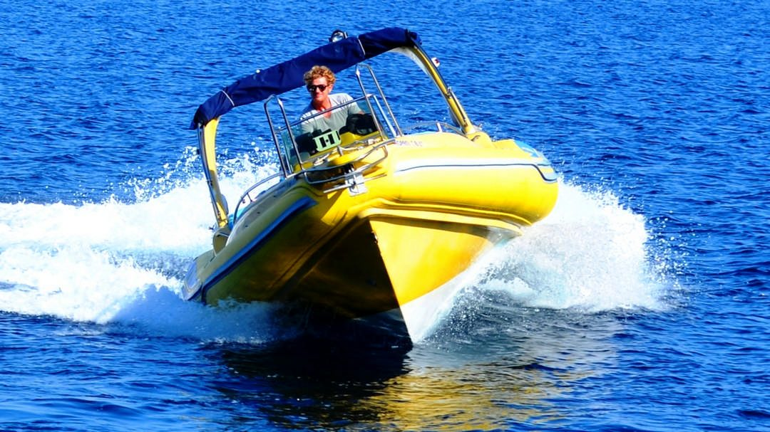 Apollon | 2 x 150 HP Sport Deluxe RIB for hire in Paxos