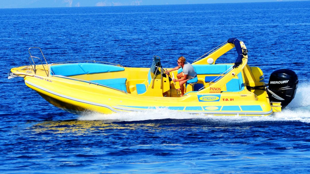 Apollon | 2 x 150 HP Sport Deluxe RIB for rent in Paxos