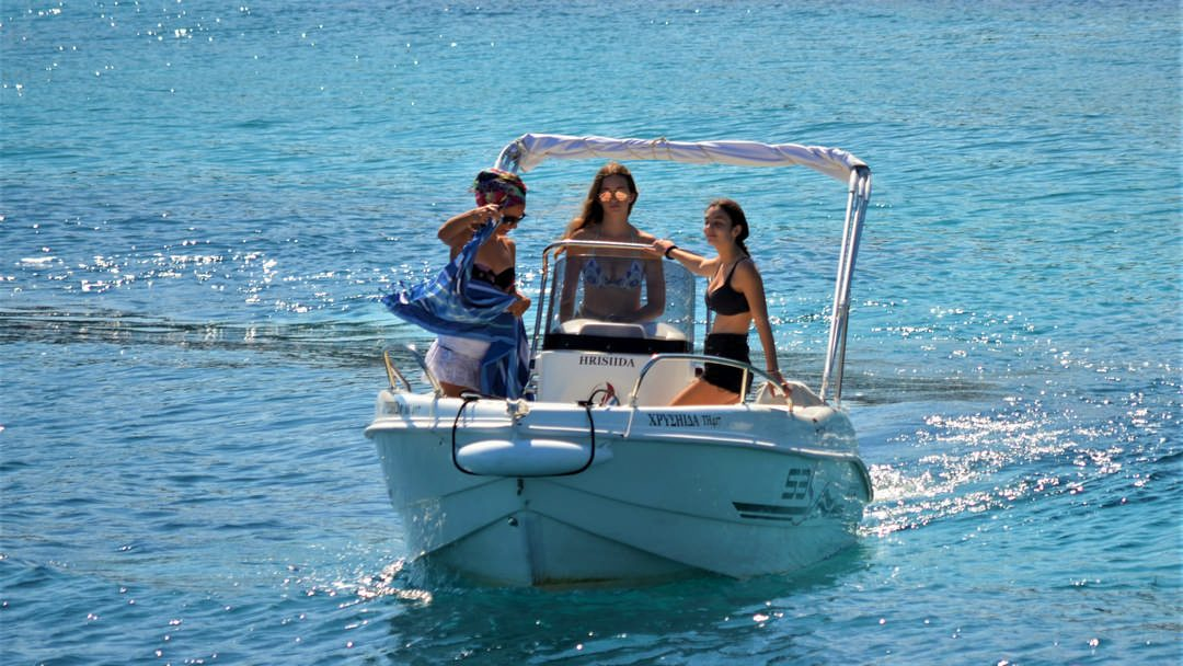 Chrisiida | 30-50 HP Deluxe Boat for rent in Paxos