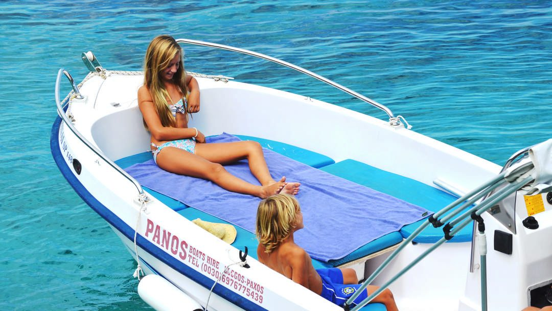 Danai & Chrysanthi | 30-50 HP Special Comfort Boats for rent in Paxos