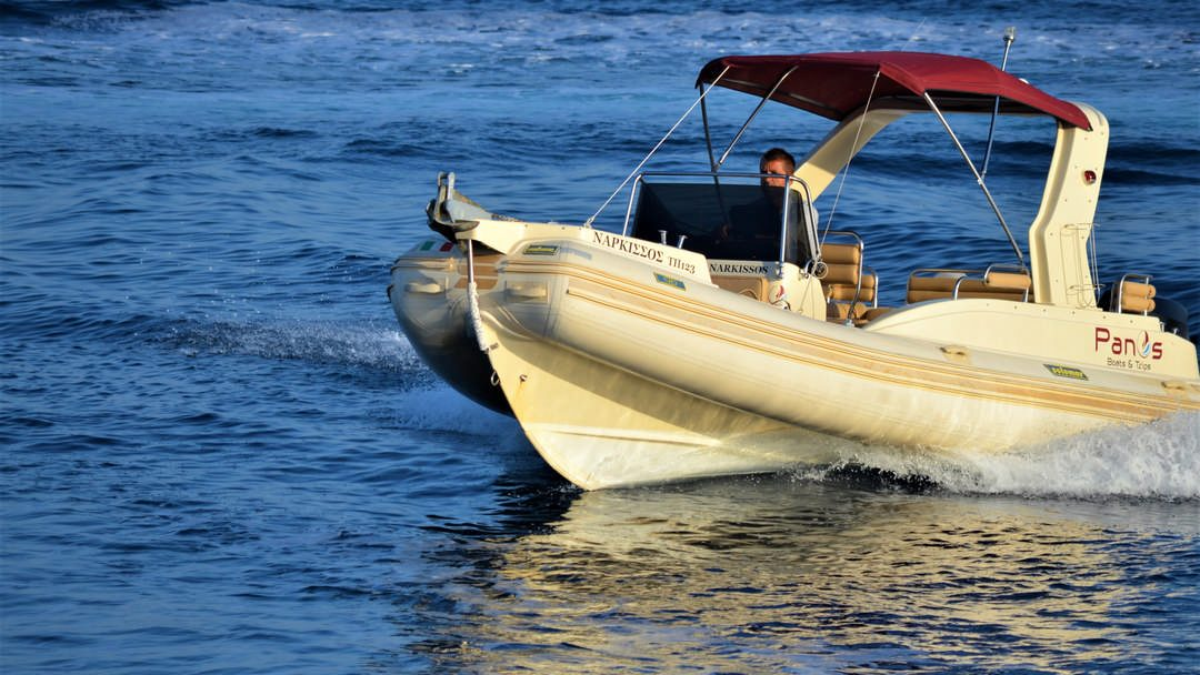 Narkissos   175 HP Sport Deluxe RIB for rent in Paxos