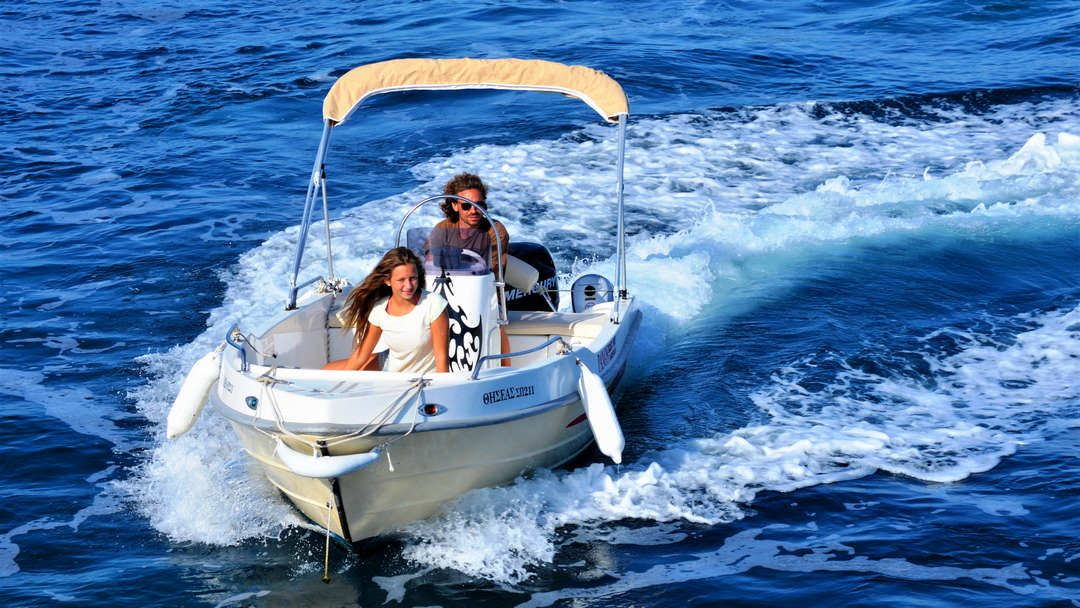 Perseas & Thiseas | 30-50 HP Sp. Comfort Boats for rent in Paxos