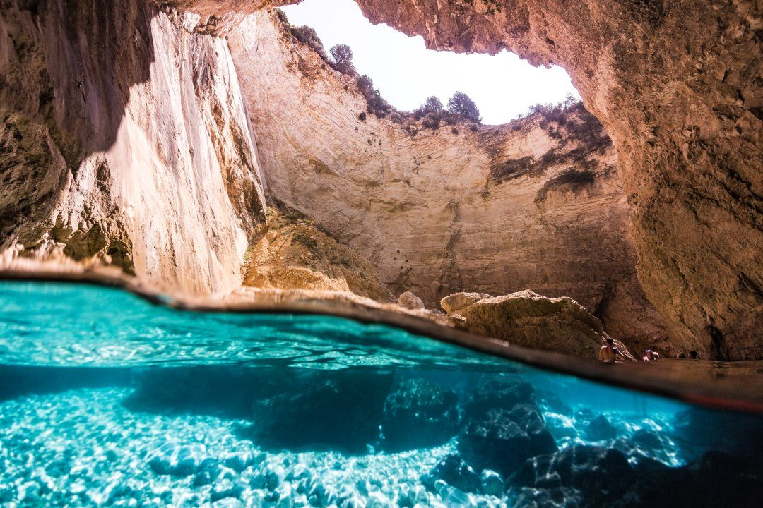 Around Paxos - Blue Caves & Antipaxos   Daily boat trip