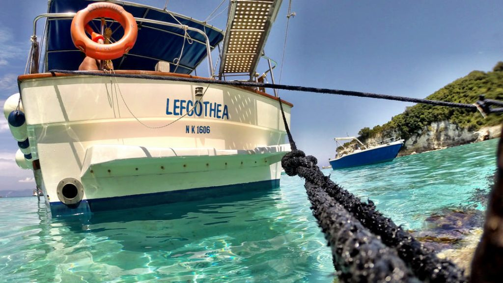 Our cruise boat Lefcothea | Health & Safety and Specifications